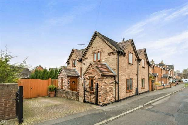3 Bedrooms Detached House for sale in 72 Prince Street, Madeley, Telford, Shropshire
