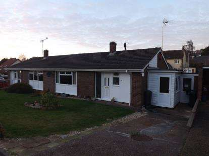 2 Bedrooms Bungalow for sale in Crediton, Devon
