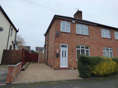 3 Bedrooms Semi Detached House for sale in Waterloo Crescent, Wigston, Leicester, Leicestershire