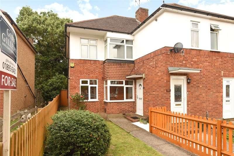 2 Bedrooms Maisonette Flat for sale in Beechwood Avenue, Ruislip, Middlesex, HA4