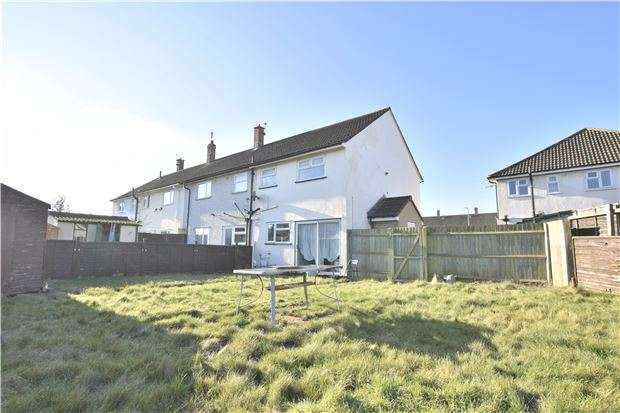 2 Bedrooms End Of Terrace House for sale in Great Dowles, Cadbury Heath, BS30 8AN