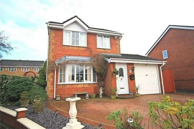 3 Bedrooms Detached House for sale in Teawell Close, The Rock, Telford, Shropshire