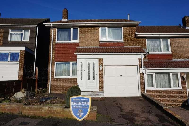 4 Bedrooms Semi Detached House for sale in Estridge Close, Bursledon, Southampton, Hampshire, SO31 8FN