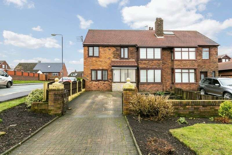 4 Bedrooms Semi Detached House for sale in Main Street, Billinge, WN5 7HR