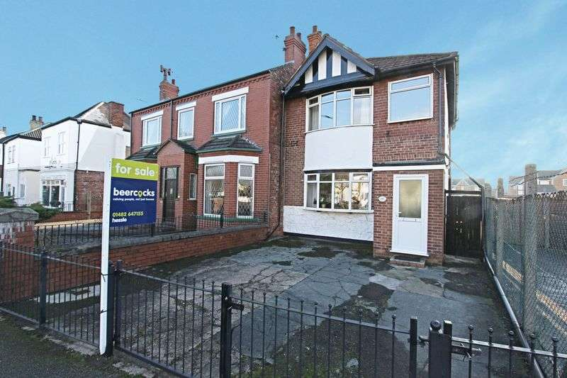 3 Bedrooms Semi Detached House for sale in Hessle High Road, Hull
