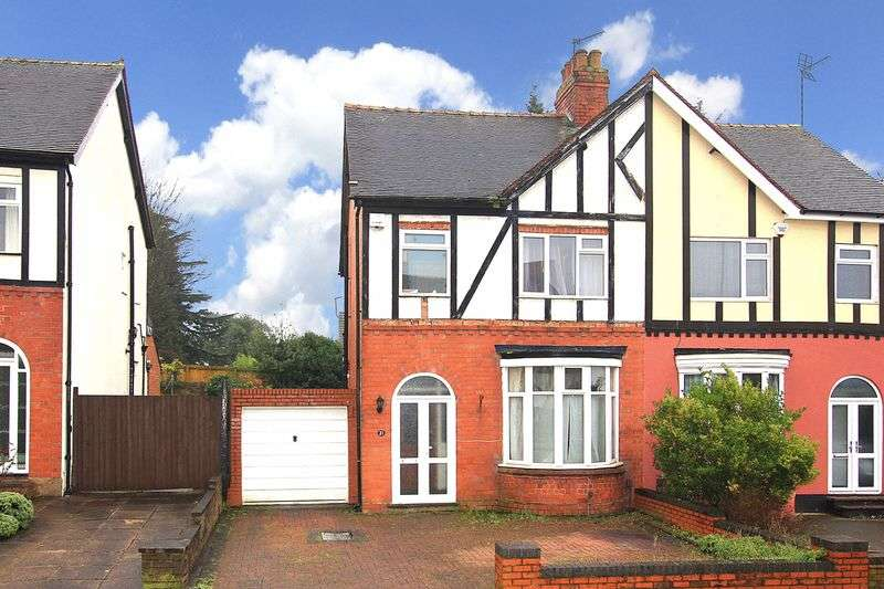 3 Bedrooms Semi Detached House for sale in PENN FIELDS/BRADMORE St. Philips Avenue
