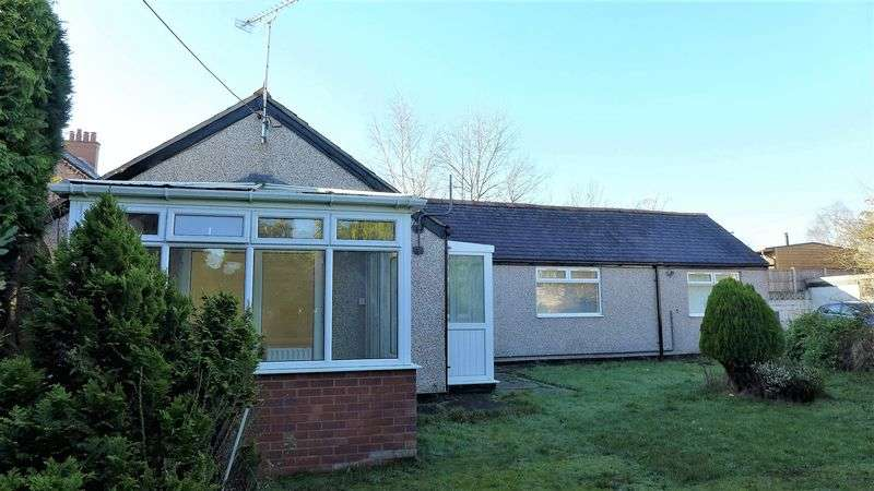 3 Bedrooms Detached Bungalow for sale in North Road, Wrexham