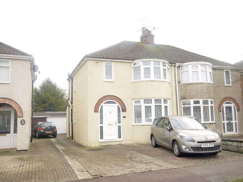 3 Bedrooms Semi Detached House for sale in Tiverton Road, Swindon