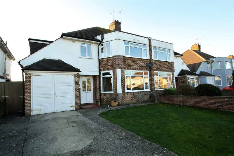 4 Bedrooms Semi Detached House for sale in Rosebery Avenue, Goring By Sea, Worthing, BN12