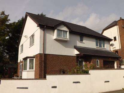 4 Bedrooms Detached House for sale in Wern Y Wylan, Criccieth, Gwynedd, LL52