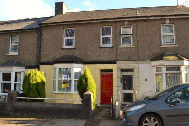 3 Bedrooms Terraced House for sale in Moss Side, Moss Side, Callington, Cornwall