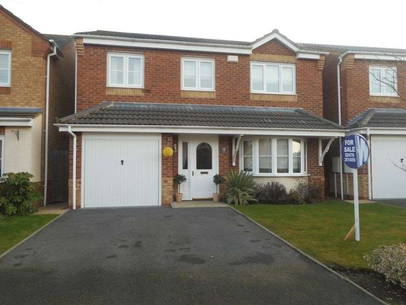 4 Bedrooms Detached House for sale in Rosemary Way, Nuneaton