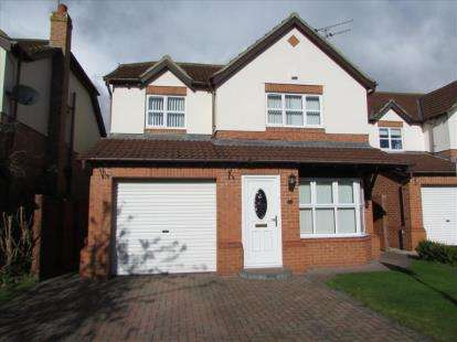 4 Bedrooms Detached House for sale in Windgroves, Chilton, Ferryhill, Durham, DL17