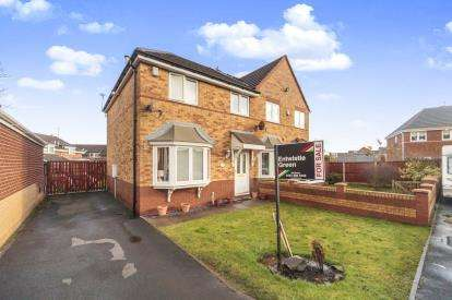 3 Bedrooms Semi Detached House for sale in Aries Close, Liverpool, Merseyside, L14