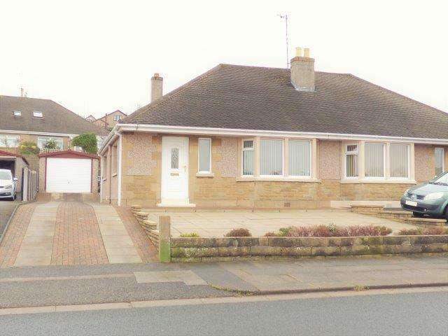 2 Bedrooms Semi Detached Bungalow for sale in Low Lane, Torrisholme, Lancashire, LA4 6PP
