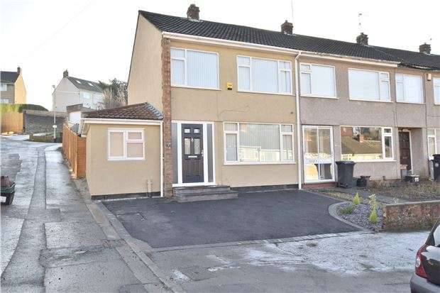 3 Bedrooms End Of Terrace House for sale in Troopers Hill Road, St. George, BS5 8BU
