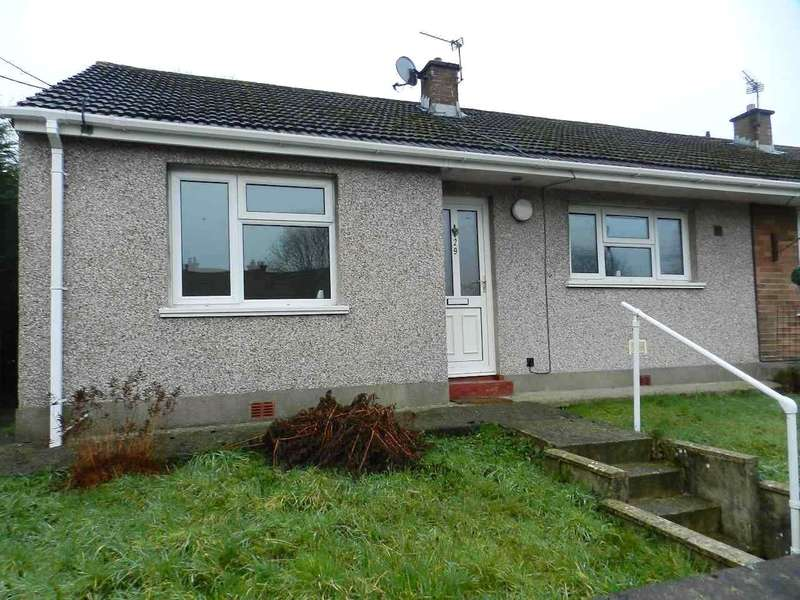 2 Bedrooms Semi Detached Bungalow for sale in St. Margarets Close, Haverfordwest, Pembrokeshire