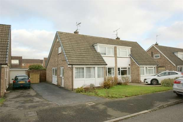 3 Bedrooms Semi Detached House for sale in Paddock Way