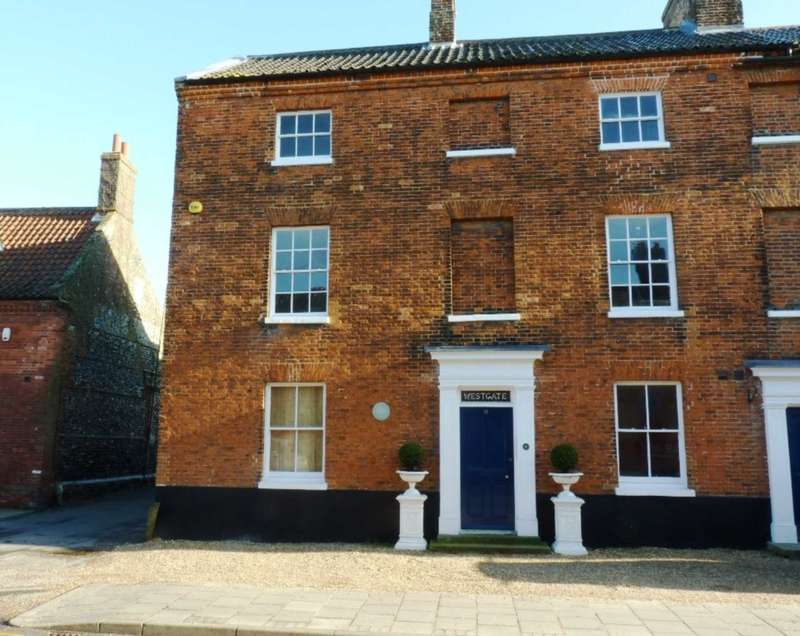 Apartment Flat for sale in Westgate House, London Street, Swaffham, PE37 7DD