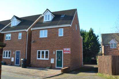 4 Bedrooms Detached House for sale in Coltishall Close, Quedgeley, Gloucester, Gloucestershire