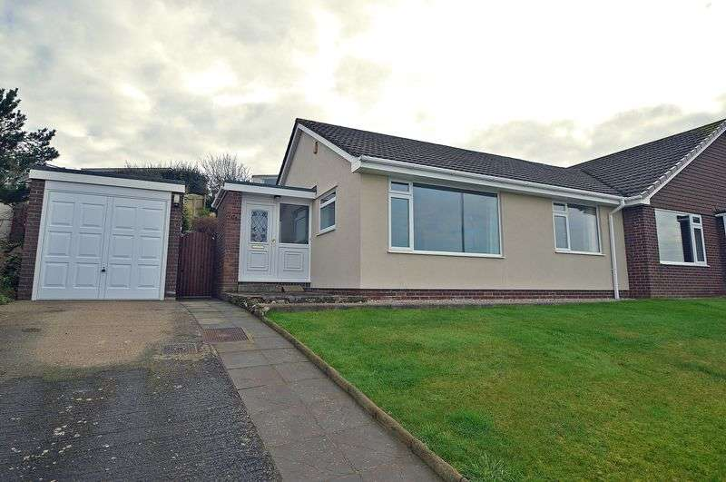 2 Bedrooms Semi Detached Bungalow for sale in On the western edge of Portishead