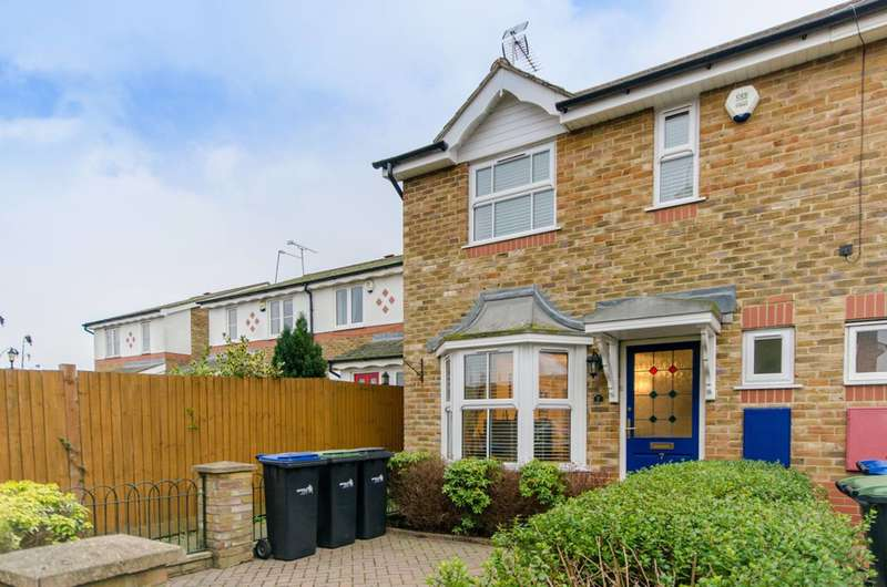 2 Bedrooms End Of Terrace House for sale in Chadwick Avenue, World's End, N21