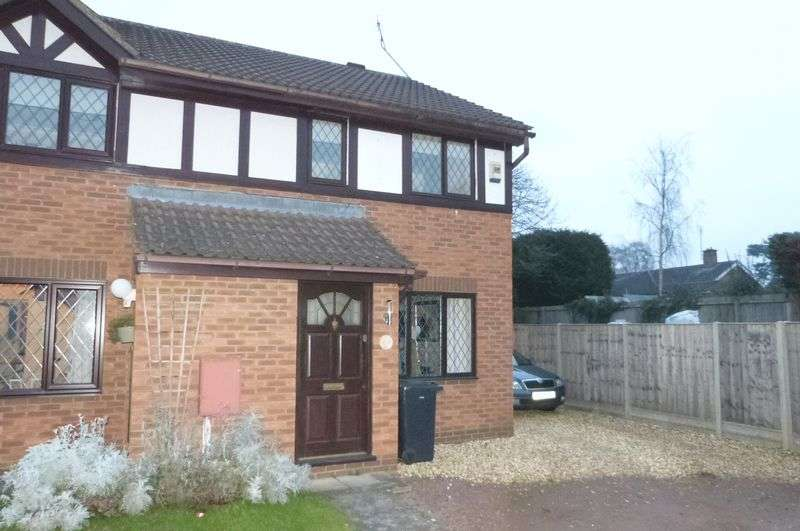 2 Bedrooms Semi Detached House for sale in Cherry Grove, Great Glen