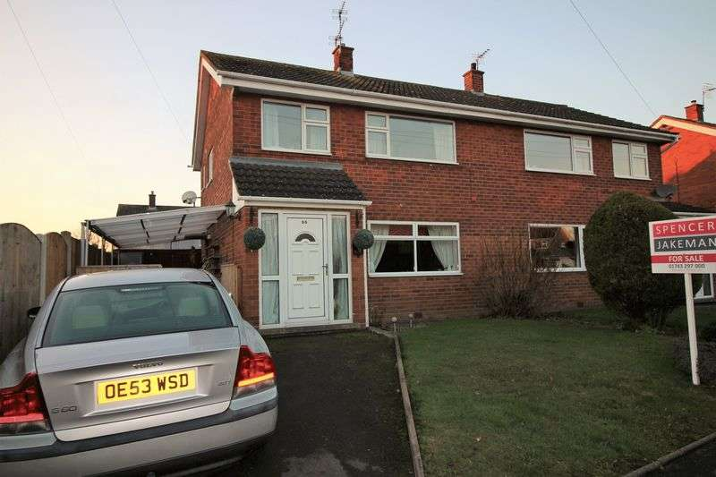 3 Bedrooms Semi Detached House for sale in 55 Westbury Road, Shrewsbury