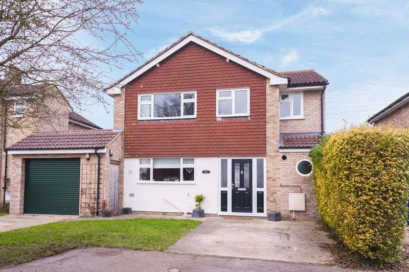 3 Bedrooms Detached House for sale in Shannon Close, Grove