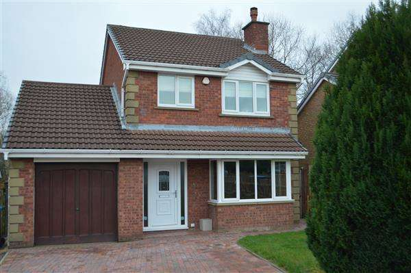 4 Bedrooms Detached House for sale in The Oaks, Eaves Green, Chorley