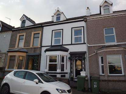 4 Bedrooms Terraced House for sale in Gelert Street, Caernarfon, Gwynedd, LL55