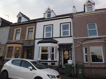 4 Bedrooms Terraced House for sale in Gelert Street, Caernarfon, Gwynedd, LL55