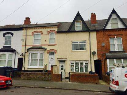 4 Bedrooms Terraced House for sale in Algernon Road, Birmingham, West Midlands