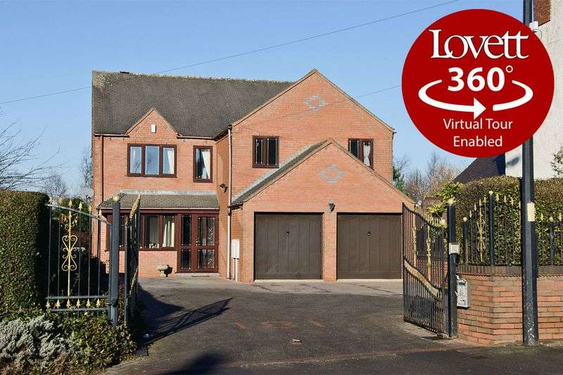 4 Bedrooms Detached House for sale in Lichfield Road, Walsall Wood