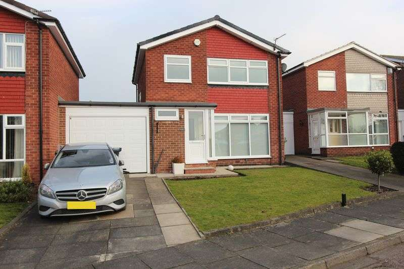 3 Bedrooms Detached House for sale in Cleadon Meadows, Cleadon, Sunderland