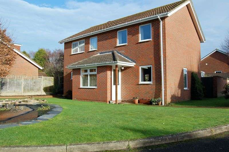 4 Bedrooms Detached House for sale in Long Down, Petersfield