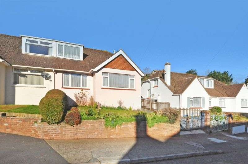 3 Bedrooms Semi Detached Bungalow for sale in Clifton Road, Paignton