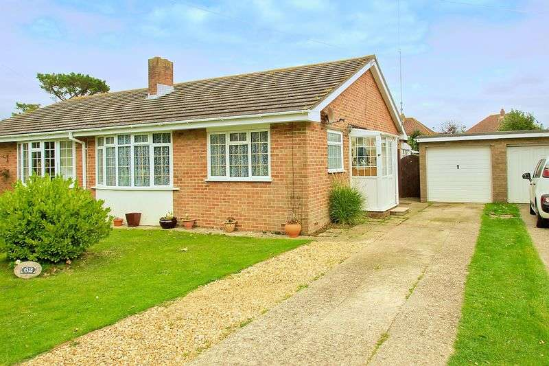 2 Bedrooms Semi Detached Bungalow for sale in New Barn Lane, Bognor Regis, PO21