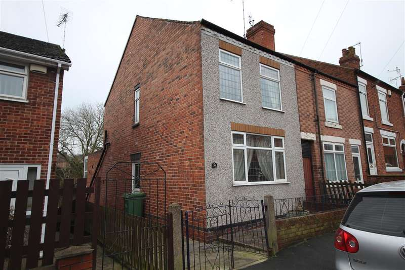 3 Bedrooms End Of Terrace House for sale in Burns Street, Heanor