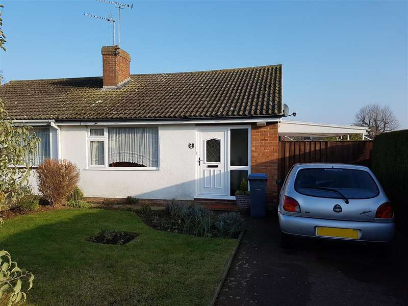 2 Bedrooms Bungalow for sale in Chatsworth Crescent, Trimley St Mary