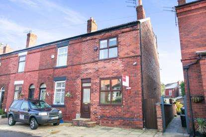 3 Bedrooms End Of Terrace House for sale in Moorland Road, Woodsmoor, Stockport, Cheshire