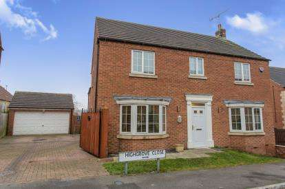 4 Bedrooms Detached House for sale in Highgrove Close, Newbold, Chesterfield, Derbyshire