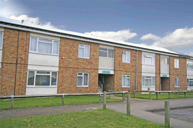 2 Bedrooms Maisonette Flat for sale in Eden Grove Road, Byfleet, Byfleet, Surrey, KT14