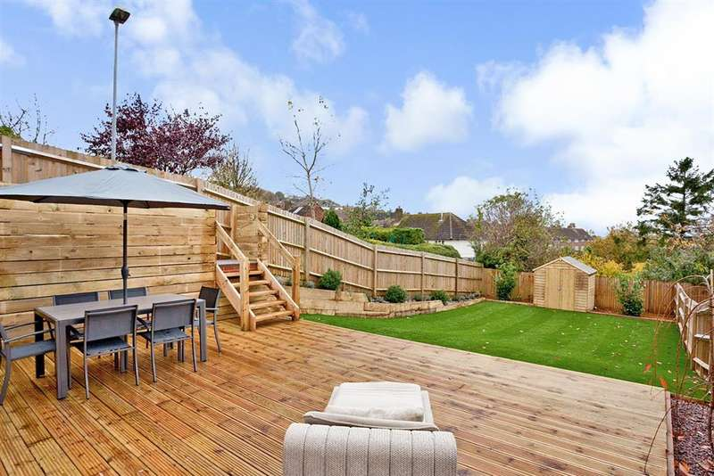 4 Bedrooms End Of Terrace House for sale in Cuckmere Way, Hollingbury, Brighton, East Sussex