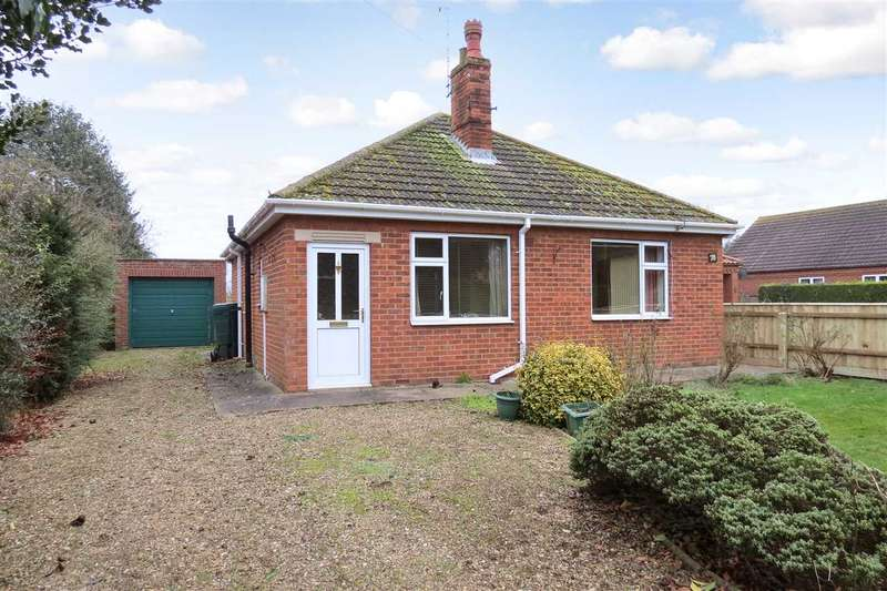 2 Bedrooms Detached Bungalow for sale in Main Street, Ewerby