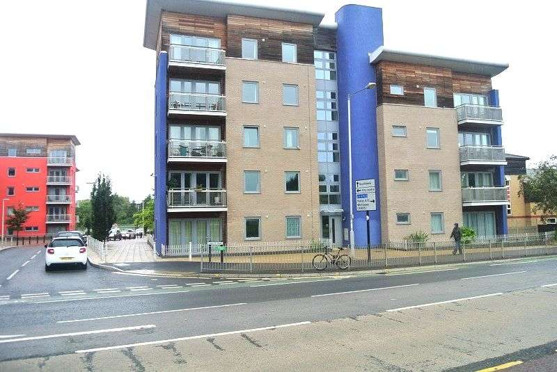 2 Bedrooms Flat for sale in Cubitt Way, Peterborough, Cambridgeshire. PE2 9NG