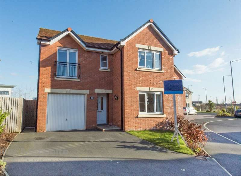 4 Bedrooms Detached House for sale in Horseshoe Drive, Buckshaw Village, Chorley, Lancashire