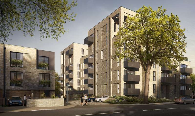 3 Bedrooms Flat for sale in Cambium, Southfields, SW19