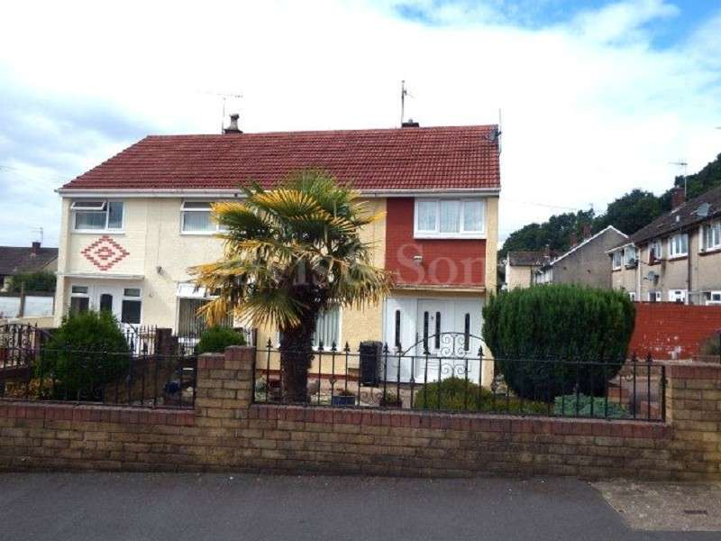 3 Bedrooms Semi Detached House for sale in Welland Crescent, Off Monnow Way, Newport. NP20 7XJ