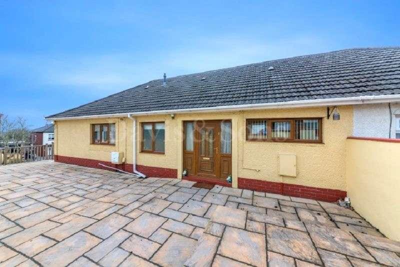 4 Bedrooms Semi Detached Bungalow for sale in Beechdale Road, Off Beechwood Road, Newport. NP19 8AE
